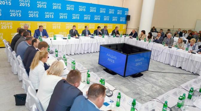 Відбулась робоча зустріч Голови Державної фіскальної служби України Ігоря Білоуса із виробниками