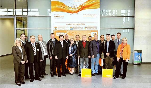 """Делегація українських пивоварів на виставці """"DRINKTEC 2013"""""""