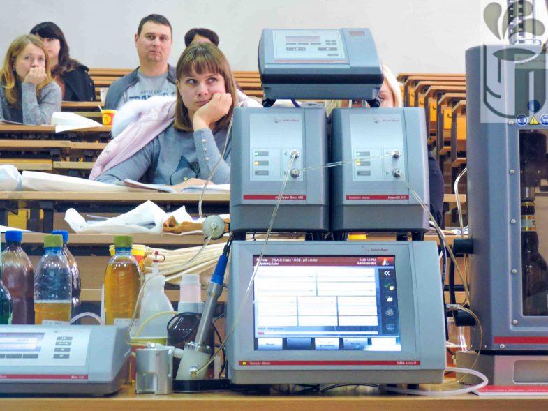 Лабораторне обладнання для проведення фізико-хімічних методів контролю